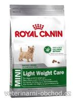 Psi - krmivo - Royal Canin Mini Light Weight Care
